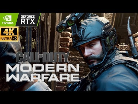 Call of Duty Modern Warfare Full Campaign Realism Ray Tracing Ultra PC 4K RTX 2080 Ti