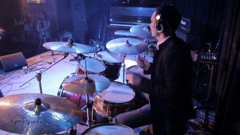 Алексей и Ольга Ковалевские. Zaz Je Veux live drum cover