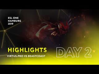 vs beastcoast  day 2   highlights esl one hamburg 2019