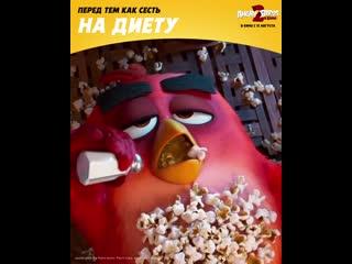 Angry birds 2 в кино - с 15 августа в кино!