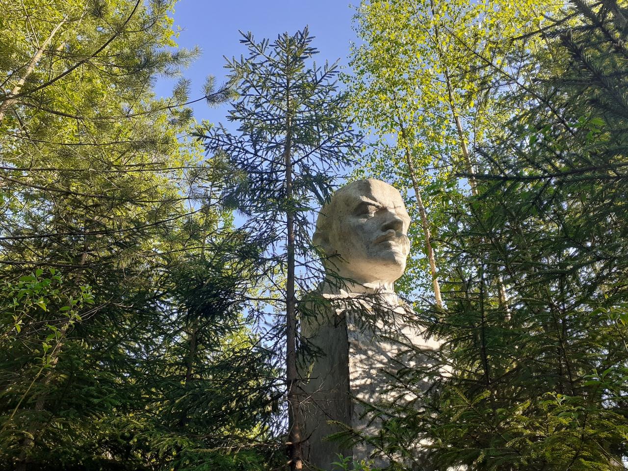 Кузьмолово-Токсово. Карельские пейзажи в 10 минутах от Петербурга. Ленин в лесу. Заброшенный лагерь