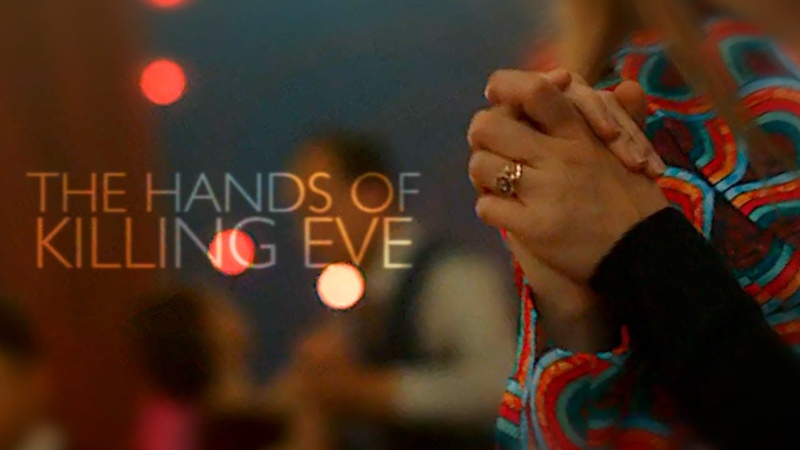 The hands of killing eve