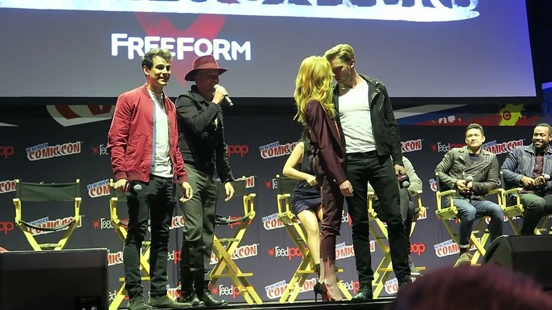 Comic-Con 2016   CLACE   MALEC   SIZZY   Shadowhunters