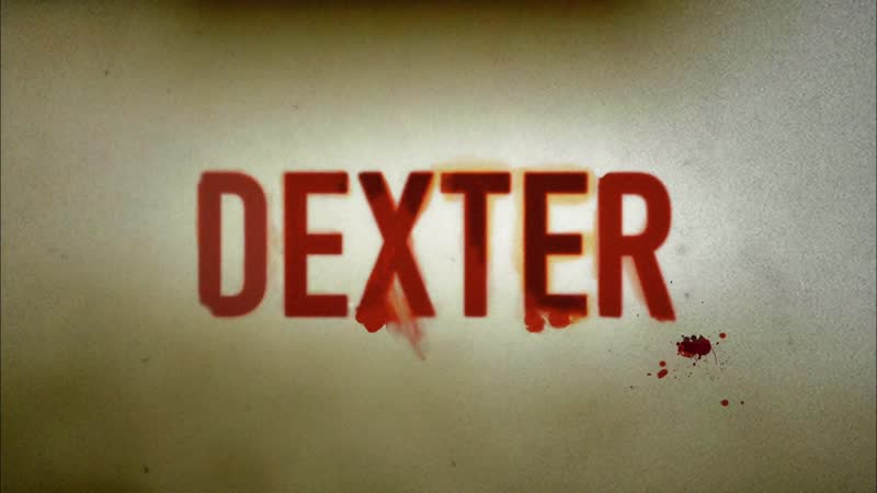 Декстер Заставка Dexter Opening Credits