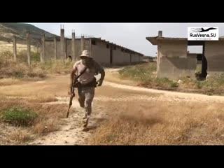 Сирия_ русская спецгруппа чвк работает под носом у боевиков в зоне идлиб. syria