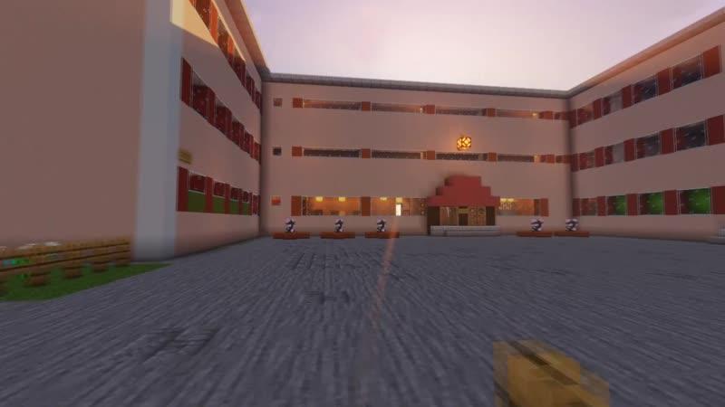 Трейлер карты Школы, ул. Машиностроителей, рядом с Пятёрочкой