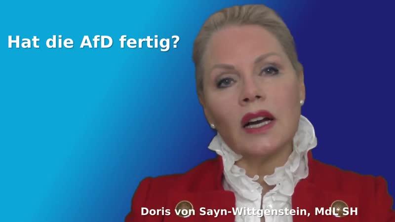 Post vom Verfassungsschutz Doris Wittgenstein 157831612422790