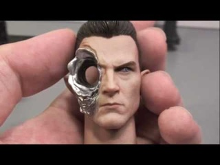 Terminator 2 Judgment Day Hot Toys T-1000 in Sarah Connor Disguise 1/6 Scale Movie Figure Review