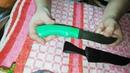 Нож Грибник от Фирмы Русский Булат сталь Дамаск