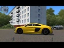 City Car Driving - AUDI R8 V10 PLUS l Normal Driving