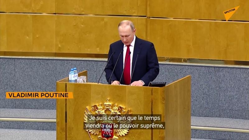 Poutine Une verticale présidentielle forte est absolument indispensable pour la Russie