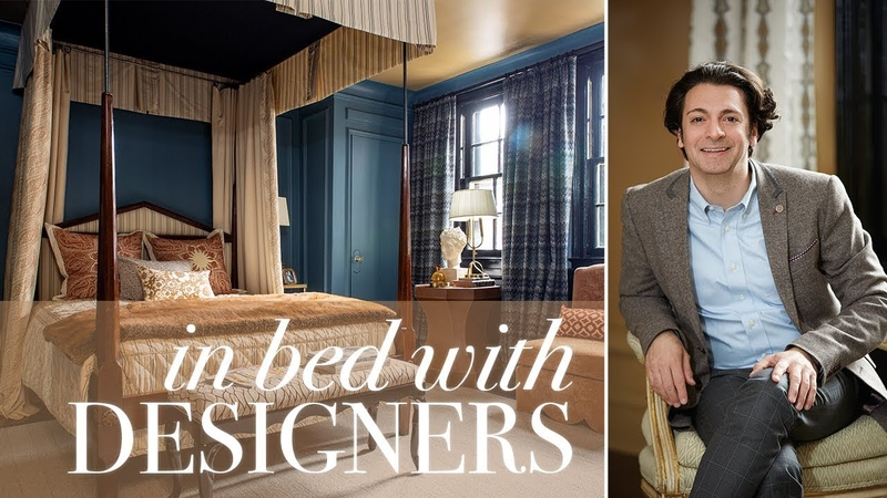 Tour A Dramatic, Elegant Bedroom With Expert Styling Tips || House Home