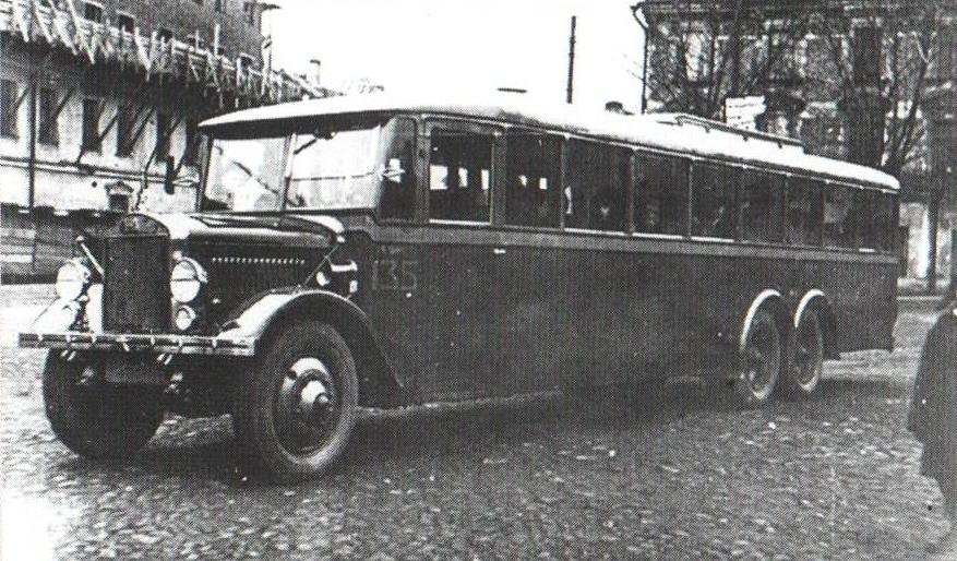 Автобус ЯА-2, 1930-е годы