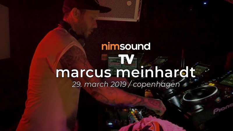 Nim Sound TV Marcus Meinhardt Live Dj Set @ Culture Box 29 March 2019 TECHNO TECH HOUSE