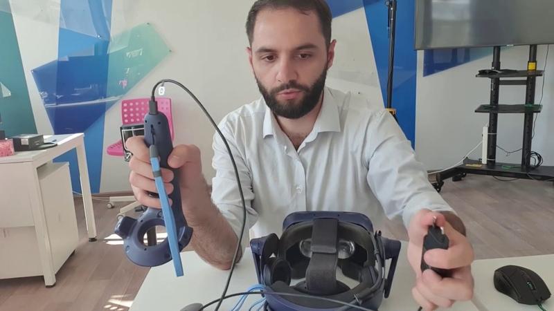 Знакомство с системой виртуальной реальности HTC Vive Pro