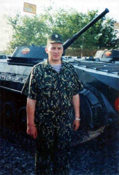 Подполковник В. Дубинин