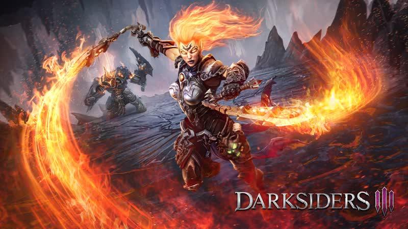 спидран до места потери сейвов - Darksiders 3 самая лёгкая сложность