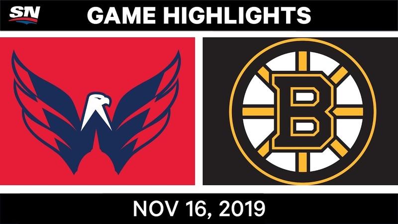 NHL Highlights | Capitals vs Bruins - Nov. 16, 2019