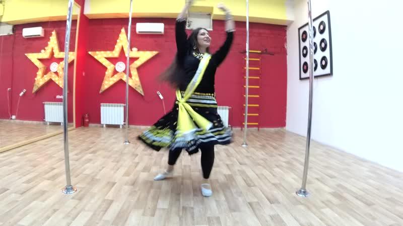 Шахназ Мамедова - индийский танец