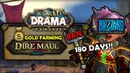 Dire Maul Gold Farming NERFED - BANNED for 180 Days for BOTTING - [Classic WoW DRAMA]
