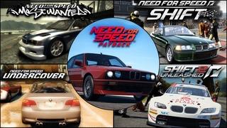 Ultimate BMW M3 (E30, E36, E46, E92, GT2, GTS, GTR) Evolution in NFS Games