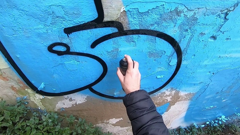 Solo Tagging and Bombing Mission 7 Graffiti Resk 12