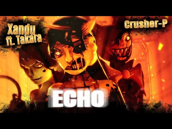 BATIM SFM| Emotions Carry Harmful Obsession |E.C.H.O. - Xandu (METAL remix ft. Takara)