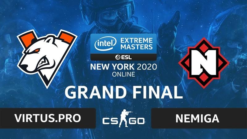 CSGO - Virtus.pro vs Nemiga [Mirage] Map 1 - IEM New York 2020 - Grand Final - CIS