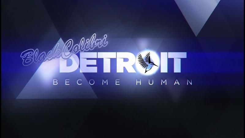 Detroit Become Human 9 ep Побег из отеля и поиск Иерихона