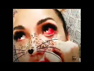 Ожог глаза во время наращивания ресниц