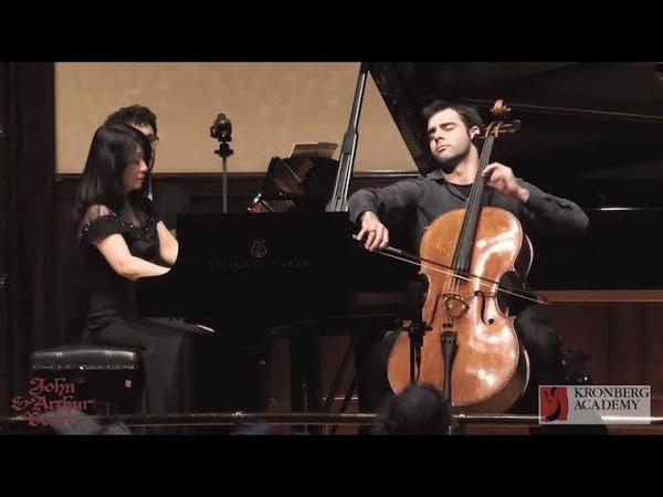 Pablo Ferrández, Max Bruch Kol Nidrei Op 47, Megumi Hashiba piano