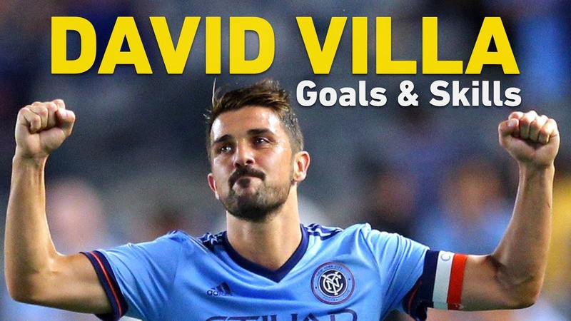 David Villa Retires From Football - See His Best Moments in MLS