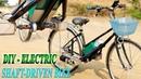 DIY Electric Shaft-Driven Bike Using Twin 500W Reducer Motor - Cardan Bike