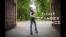 Anastasia in tight spandex leggings