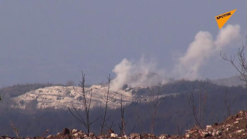 القوات السورية توجه مرابط النيران وتستعد КС 19