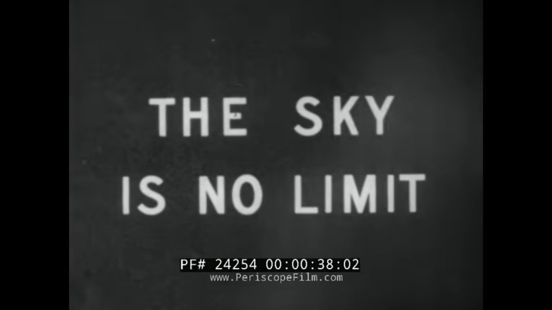 THE SKY IS NO LIMIT 1952 U.S. AIR FORCE AEROBEE ROCKET LAUNCH HOLLOMAN NEW MEXICO 24254