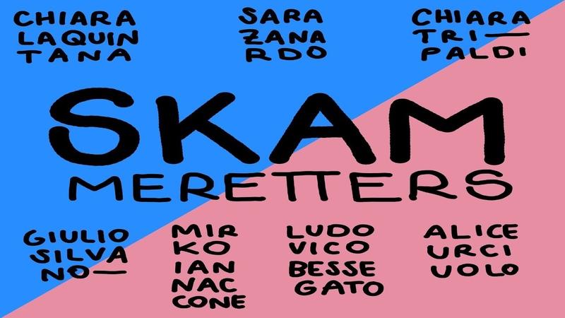 Decamerette 23/05 ore 22:00 - SKAMeretters con Ludovico Bessegato e Alice Urciuolo