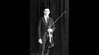 Sascha Jacobsen (violin) - To a Wild Rose (MacDowell, arr. Hartmann) (1928)