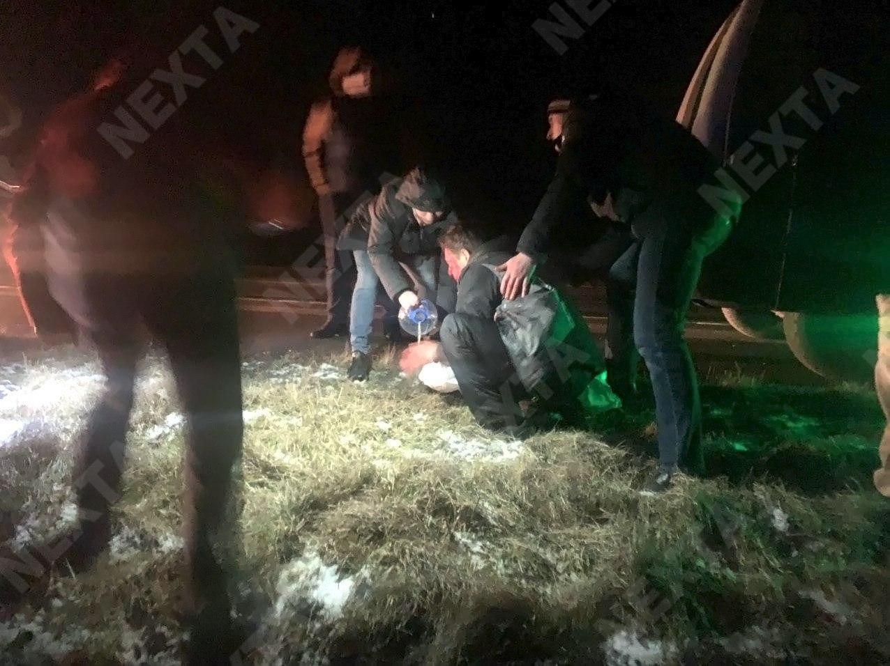 На трассе М1 в 20 километрах от Барановичей жёсткое ДТП: автомобиль сбил лося