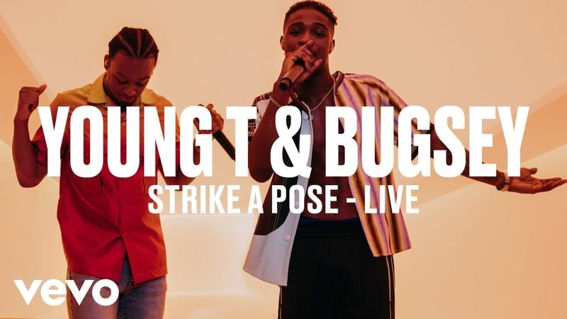 Young T Bugsey - Strike A Pose (Live) | Vevo DSCVR