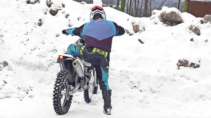 Школа Эндуро - Как Обращаться с Высоким Мотоциклом