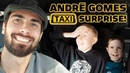 ANDRÉ GOMES TAXI SURPRISE EVERTON MIDFIELDER DRIVES YOUNG FANS TO THE GAME