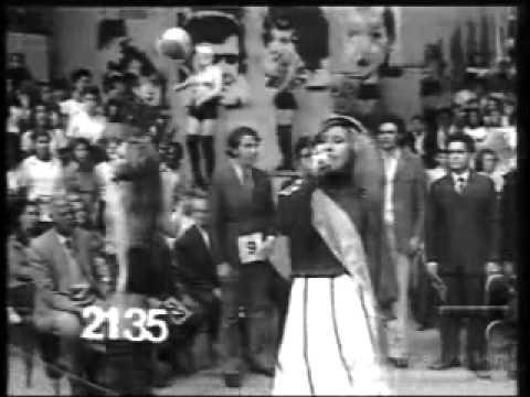 Chacrinha na novela Mulheres de Areia TV Tupi 1973