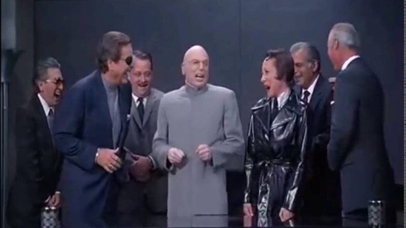 Dr Evil's Laughing Scene HD