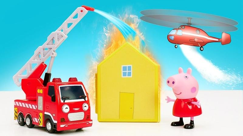 Vidéo éducative pour enfants Les véhicules d'assistance Le courrier pour Peppa Pig