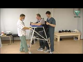 В Перми врачи впервые применили экзоскелет для реабилитации пациента