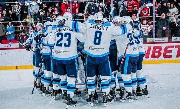 Сибирь пробилась в следующий круг плей-офф.