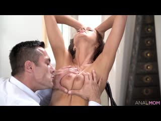 Tina Kay (Negotiation) , Anal Sex, Ass Licking, Bedroom, Blouse, Blow Job, Brunette, Camel Toe, Corset