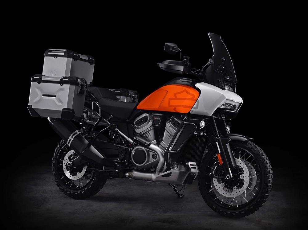 Больше инфо о турэндуро Harley-Davidson Pan America
