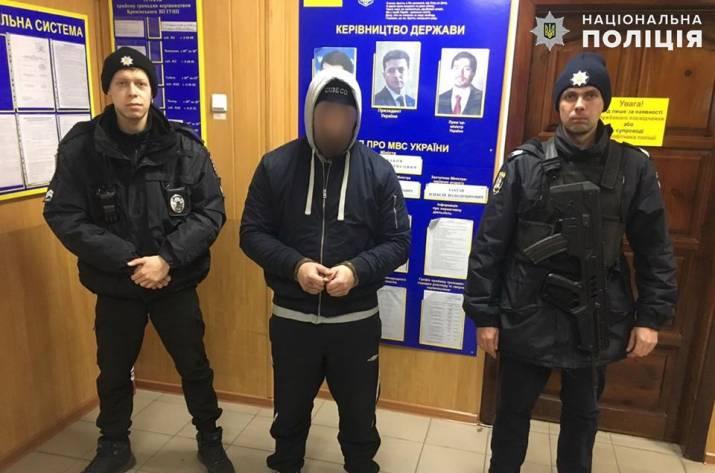 На Луганщине задержали отморозка-рецидивиста (фото)